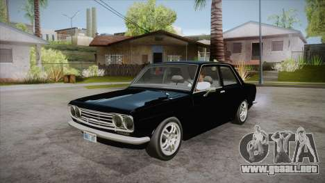 Datsun 510 RB26DETT Black Revel para GTA San Andreas