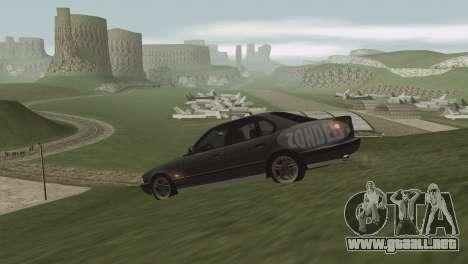Hierba de Las Venturase. para GTA San Andreas octavo de pantalla