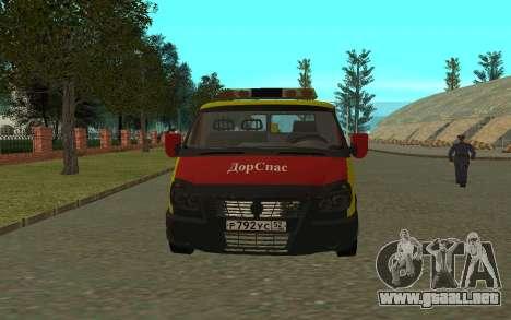 3302 Gacela grúa negocios para GTA San Andreas left