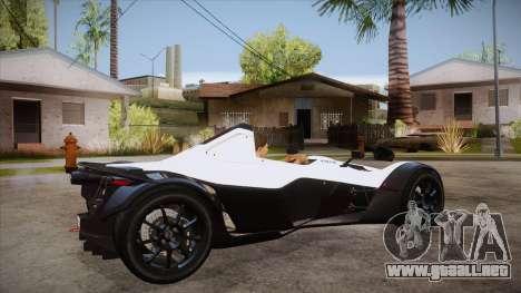 BAC Mono 2011 para la visión correcta GTA San Andreas