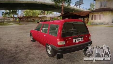 IZH 21261 Fabula BETA para GTA San Andreas vista posterior izquierda