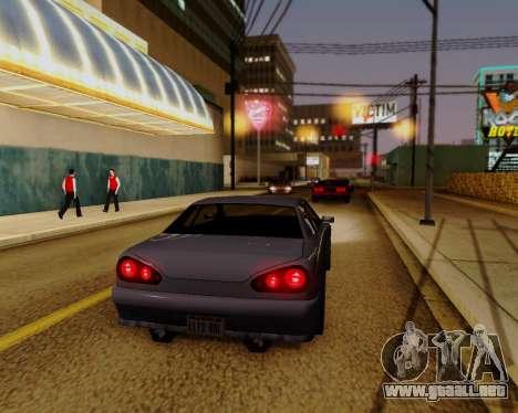 ENBSeries para PC de gran alcance para GTA San Andreas tercera pantalla