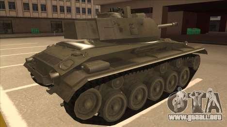 M41A3 Walker Bulldog para la visión correcta GTA San Andreas