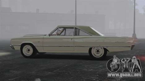 Dodge Coronet 440 1967 para GTA 4 left