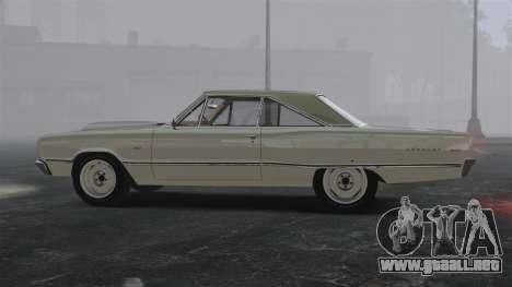 Dodge Coronet 440 1967 para GTA 4 left