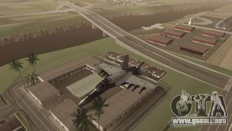 Hierba de Las Venturase. para GTA San Andreas novena de pantalla