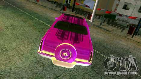 Cadillac Fleetwood Coupe para GTA Vice City vista superior