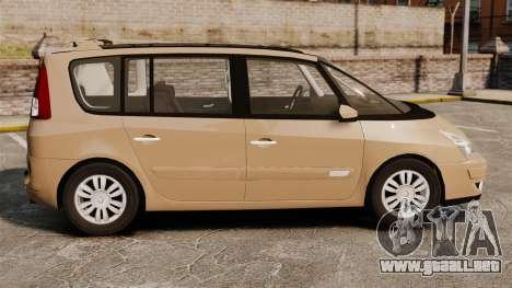 Renault Espace IV Initiale para GTA 4 left