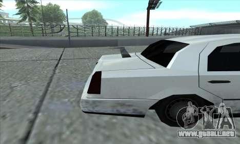 El tramo de GTA 5 para la visión correcta GTA San Andreas
