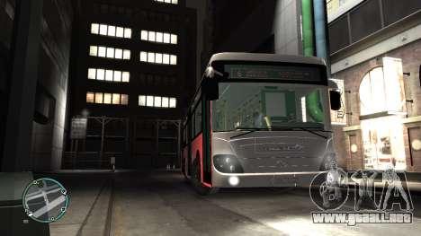 Daewoo BC211MA Baku para GTA 4 visión correcta