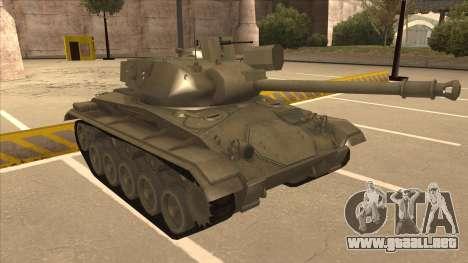 M41A3 Walker Bulldog para GTA San Andreas left