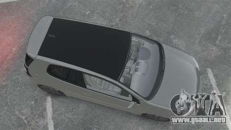 Volkswagen Golf GTi DT-Designs para GTA 4 visión correcta