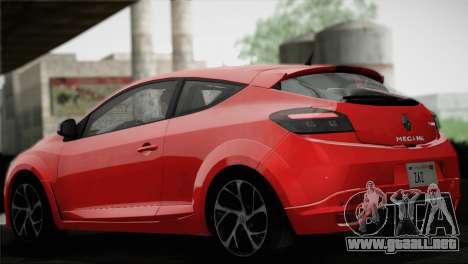 Renault Megane RS Tunable para las ruedas de GTA San Andreas