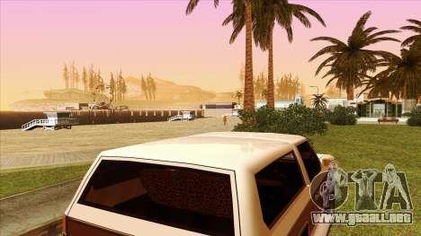 Rancher Bronco para visión interna GTA San Andreas