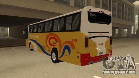 Yellow Bus Line A-29 para la visión correcta GTA San Andreas