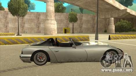 Banshee Stance para GTA San Andreas vista posterior izquierda