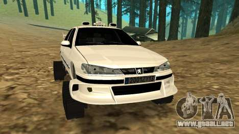 Peugeot 406 Grizzli para GTA San Andreas left