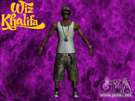 Wiz Khalifa para GTA San Andreas