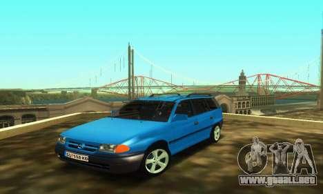 Opel Astra F Caravan para GTA San Andreas