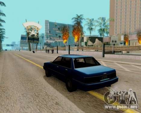 ENBSeries para PC de gran alcance para GTA San Andreas segunda pantalla