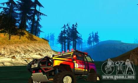 UAZ Hunter juicio para la visión correcta GTA San Andreas
