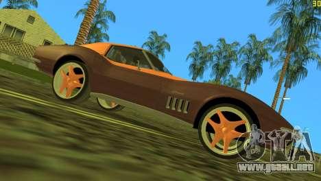 Chevrolet Corvette C3 Tuning para GTA Vice City vista lateral izquierdo