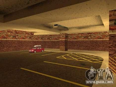 Nuevo garaje interior policía HP para GTA San Andreas sexta pantalla