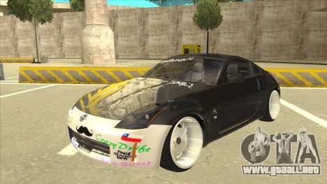 Nissan 350z SimpleDrift para GTA San Andreas