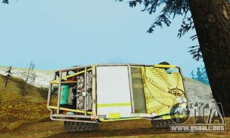 Joker prototipo UAZ para vista lateral GTA San Andreas