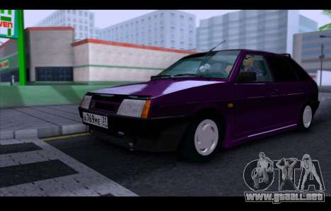VAZ 21093 para vista lateral GTA San Andreas