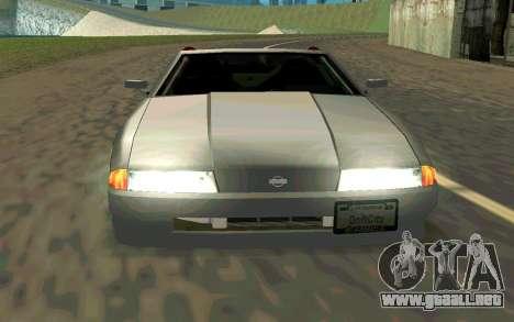 Elegy Cabrio para la visión correcta GTA San Andreas