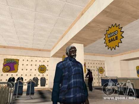 La nueva chaqueta CJ para GTA San Andreas segunda pantalla