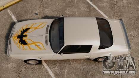 Pontiac Turbo TransAm 1980 para GTA 4 visión correcta