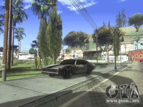 Clover Modified para GTA San Andreas vista posterior izquierda