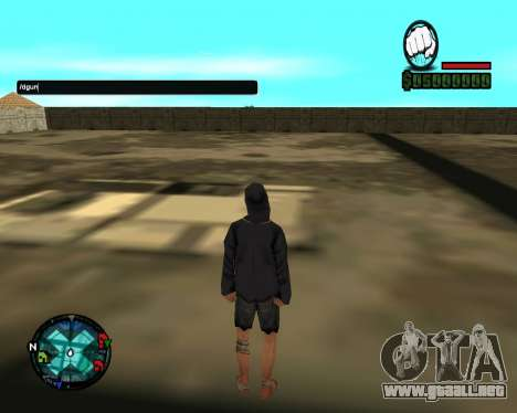 Cleo Gun for SA:MP (dgun) para GTA San Andreas