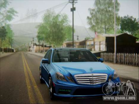 Mercedes-Benz E63 AMG 2010 para vista inferior GTA San Andreas