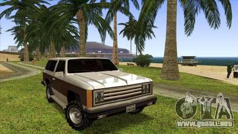 Rancher Bronco para GTA San Andreas