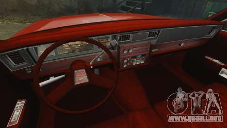 Chevrolet Caprice Wagon 1989 para GTA 4 vista lateral