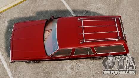 Chevrolet Caprice Wagon 1989 para GTA 4 visión correcta