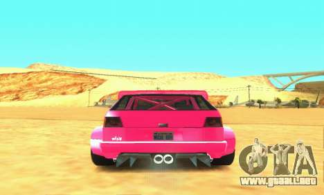 Hillclimb Club para vista lateral GTA San Andreas