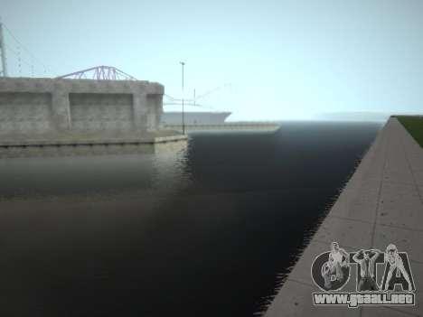 ENBSeries v4 by phpa para GTA San Andreas sucesivamente de pantalla