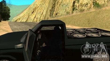 NEW Bobcat para vista lateral GTA San Andreas