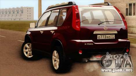 Nissan X-Trail 2009 para GTA San Andreas left