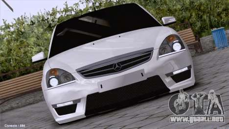 Lada Priora AMG Version para GTA San Andreas left