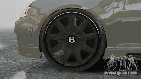 Volkswagen Golf GTi DT-Designs para GTA 4 vista hacia atrás