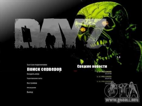 El menú de la MTA en ruso para GTA San Andreas segunda pantalla