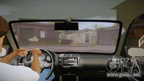 Honda Civic 1998 Tuned para visión interna GTA San Andreas