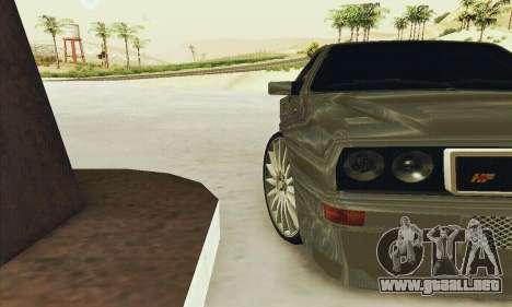 Lancia Delta HF Integrale para la vista superior GTA San Andreas