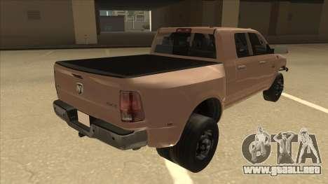 Dodge Ram [Johan] para la visión correcta GTA San Andreas