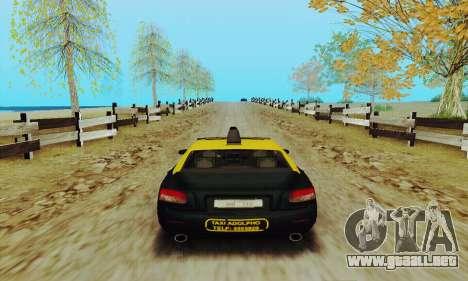Taxi mercenarios 2 para la visión correcta GTA San Andreas